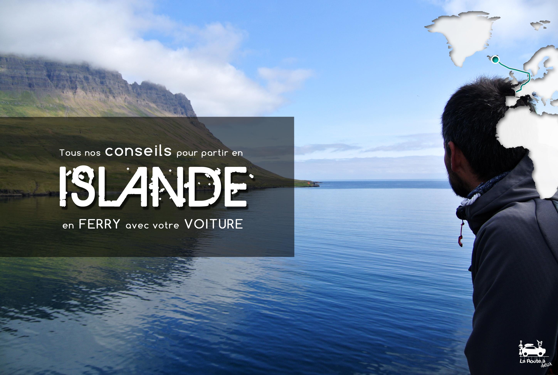 Ferry Voiture Islande