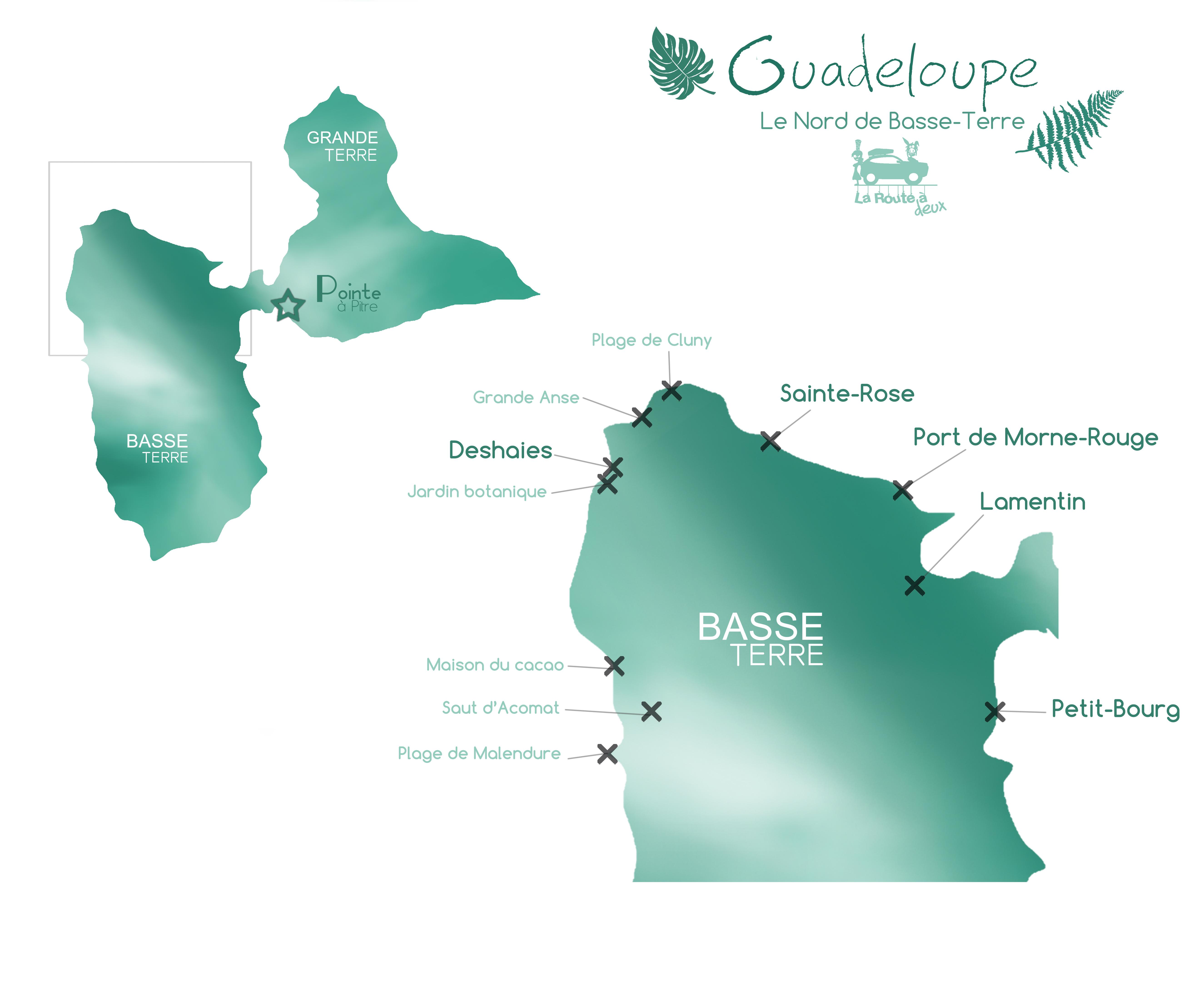 Jour 6 Le Nord De Basse Terre Guadeloupe La Route A Deux